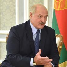 A. Lukašenka neigia, kad jo vaikai ruošiami perimti valdžią Baltarusijoje