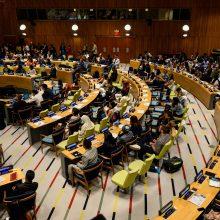 Jungtinės Tautos: viršūnių susitikimas dėl klimato taps tiesos momentu