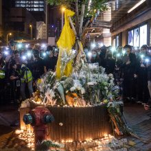 Kinijos premjeras: Honkongo protestų dilema vis dar neišspręsta