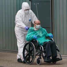 Europoje užsikrėtusiųjų koronavirusu – daugiau nei 500 tūkstančių