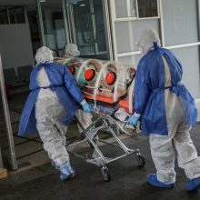 Ukrainoje patvirtinti 638 nauji COVID-19 atvejai, 14 pacientų mirė