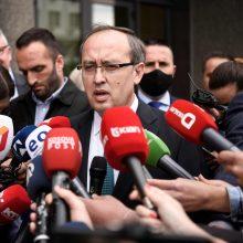 Kosovo parlamentas po kelis mėnesius trukusios krizės patvirtino naują vyriausybę