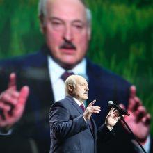 JK ir Kanada paskelbė sankcijas Baltarusijos autoritariniam prezidentui A. Lukašenkai