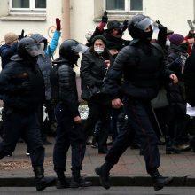 JT teisių komisarė: Baltarusijoje tęsiasi sistemingas susidorojimas su protestuotojais