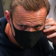 Raginimus paleisti A. Navalną Rusija vadina bandymu nukreipti dėmesį nuo krizės Vakaruose