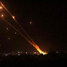 Kariuomenė: iš Gazos Ruožo Izraelio link nuo pirmadienio paleista daugiau nei tūkstantis raketų