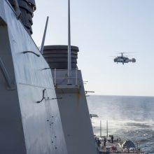 Rusijos kariuomenė pradeda didelio masto pratybas Baltijos jūroje