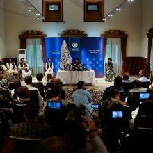 """Talibanas per tiesiogines derybas perspėja JAV """"nedestabilizuoti"""" Afganistano"""