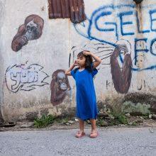 Gatvės meno aidas iš Indonezijos miškų