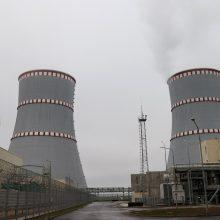 Astravo AE vėl įjungta į Baltarusijos energetikos sistemą