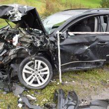 Ketvirtadienio nelaimės keliuose: sužeisti du mažamečiai, žuvo keturračio vairuotojas