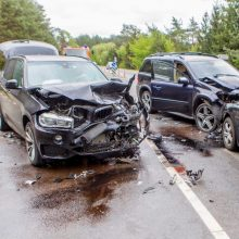Bauginanti statistika: per savaitę keliuose žuvo šeši žmonės