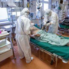 Ligoninėse gydoma per 1,7 tūkst. COVID-19 pacientų, 175 – reanimacijoje