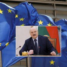 Diplomatai: ES sutarė dėl sankcijų svarbiems Baltarusijos ekonomikos sektoriams