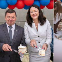 """Kėdainių gimtadieniui– 647 kilogramai """"Maximos"""" tortų"""