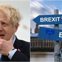 """JK premjeras žada, kad šalis bus pasirengusi """"Brexit"""" be sutarties scenarijui"""