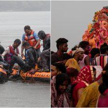 Nelaimė Indijoje: per religinę ceremoniją nuskendo dvylika žmonių