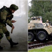 Netoli Latvijos sienos prasideda didelės Rusijos ir Baltarusijos karinės pratybos