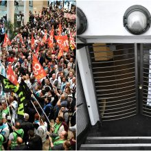 Paryžiuje – didžiausias per dvylika metų viešojo transporto darbuotojų streikas