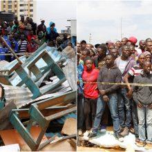 Kenijos sostinėje sugriuvo mokykla: žuvo septyni vaikai, dešimtys sužeista