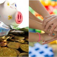 Geros žinios daugiavaikėms šeimoms: GPM mokestį siūlo taikyti ne visiems