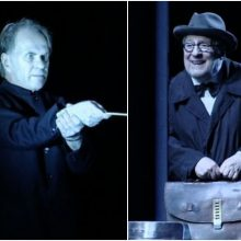 Naujausiame R. Tumino spektaklyje – netikėta scenos žvaigždžių akistata