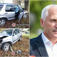 Policija patvirtino: V. Ušacko brolis tragišką avariją sukėlė girtas