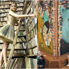 Knygos menininkus įkvepia kurti neįtikėtinus šedevrus