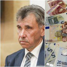 Z. Jedinskis: bus siūloma apmokestinti visų finansinių įstaigų turtą