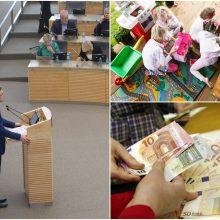 Seimas svarstys, ar didinti vaiko pinigus