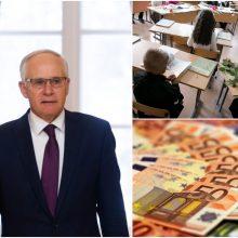 Švietimo ministras: 2020-ųjų biudžete neįgyvendinti susitarimai dėl mokytojų algų