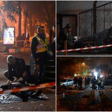 Neramumai Kijeve: miesto centre sprogo granata