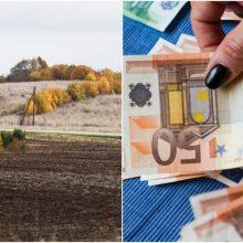 Daugiau nei 75 proc. gyventojų žemės mokestį sumokėjo laiku: kitus ragina suskubti
