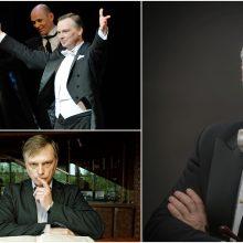 Jubiliejinio koncerto išvakarėse dirigentas M. Staškus susitiks su savo gerbėjais