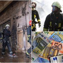 Po gaisro Alytuje siūlo daryti tinkamus sprendimus: ar didės ugniagesių algos?