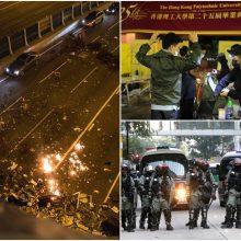 Europos Sąjunga kviečia Honkongo konflikto šalis dialogui