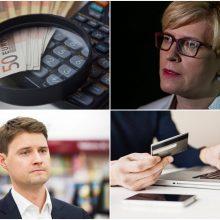 M. Majauskas ir I. Šimonytė dėl bankų apmokestinimo kreipėsi į Europos Centrinį Banką