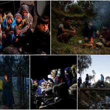 Į Graikiją ir toliau plūsta migrantai: priėmimo centrai perpildyti