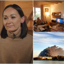 Alytaus mero žmona: supratau, kad rėksiu ar pyksiu, vyras vis tiek liks gaisravietėje