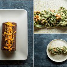 Savaitgalio pietums – špinatiniai makaronai ir interpretuotas Kuršėnų vyniotinis