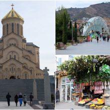 Tbilisio mozaikoje – visos Sakartvelo spalvos