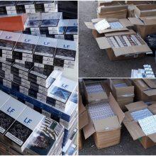 Įkliuvo pareigūnams: nuomoninkas garažą pavertė kontrabandos sandėliu