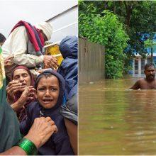 Indiją užliejo potvyniai: žuvo dešimtys žmonių, tūkstančiai evakuota