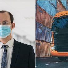 M. Skuodis: transporto sektorius susiduria su iššūkiais