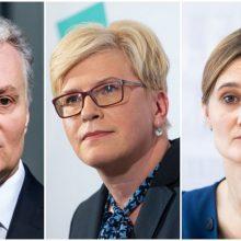 Apklausa: sumažėjo G. Nausėdos, I. Šimonytės, V. Čmilytės-Nielsen vertinimai