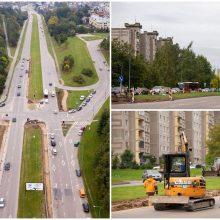 Iki metų pabaigos bus rekonstruota dar viena miesto sankryža: šį kartą – Šilainiuose