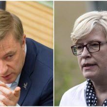 R. Karbauskis pažėrė kritikos I. Šimonytei: tai – beviltiškiausia Vyriausybė Lietuvos istorijoje