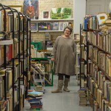 """Misija: G.Liočienės įkurta """"Keistoteka"""" – galimybė prisidėti ne tik prie knygų gelbėjimo, bet ir prie """"zero waste"""" judėjimo."""