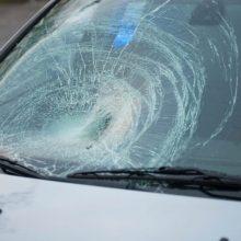 Marijampolėje nepilnametį perėjoje partrenkęs automobilis pasišalino