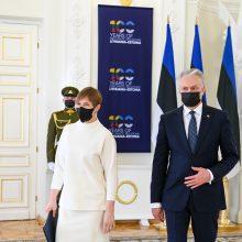 G. Nausėda: Lietuva ir Estija su nerimu stebi padėtį Rusijoje ir Baltarusijoje